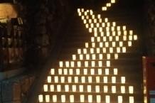 なら燈花会①・階段